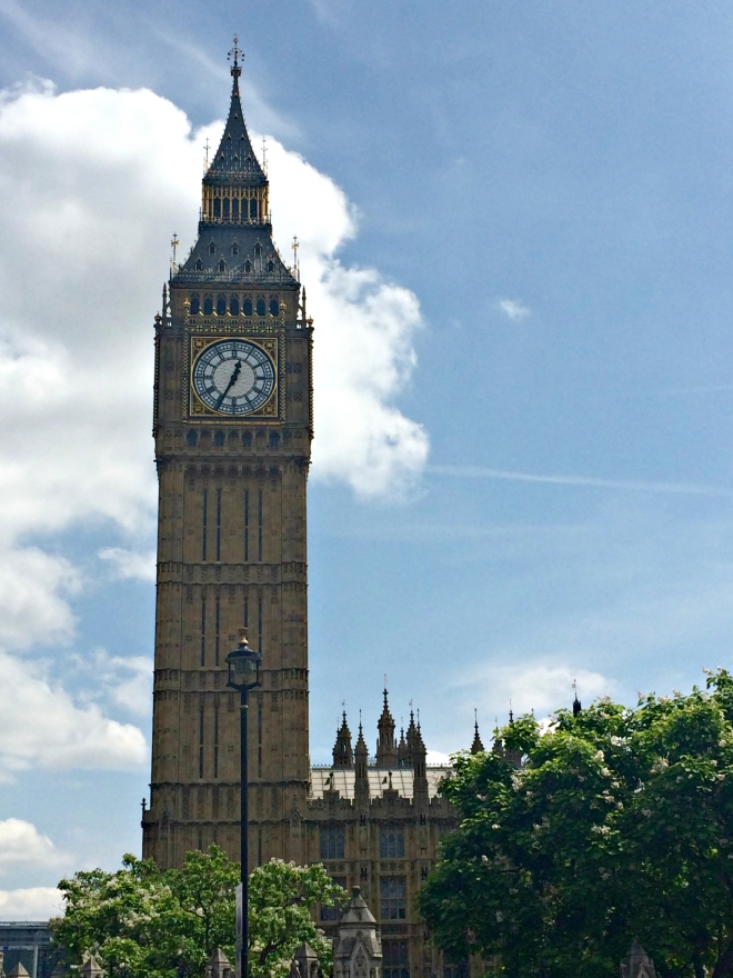 The Big Ben. Always great for a photo.