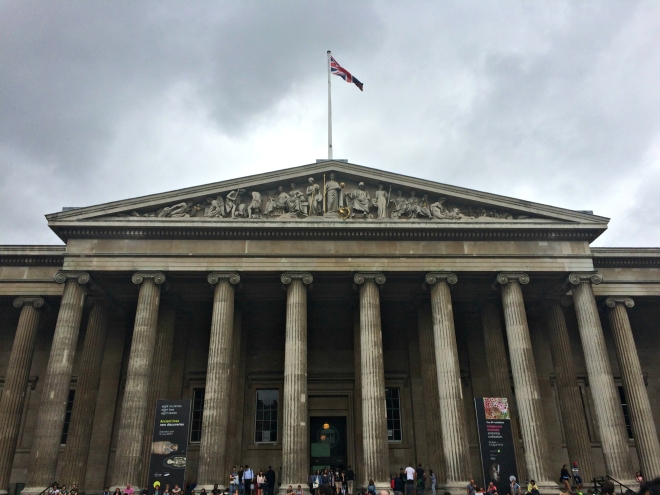 The British Museum: Impressive from the Outside...