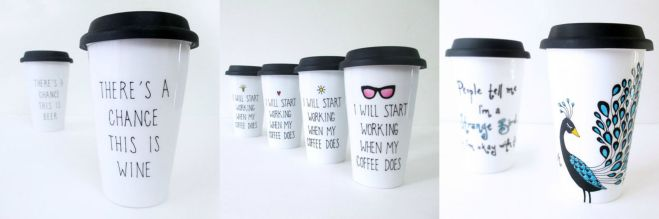 Travel Mugs by Yunik Design