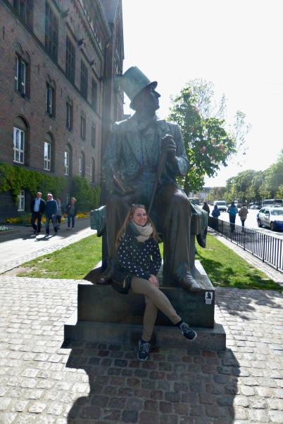 The Statue of Hans Christian Andersen